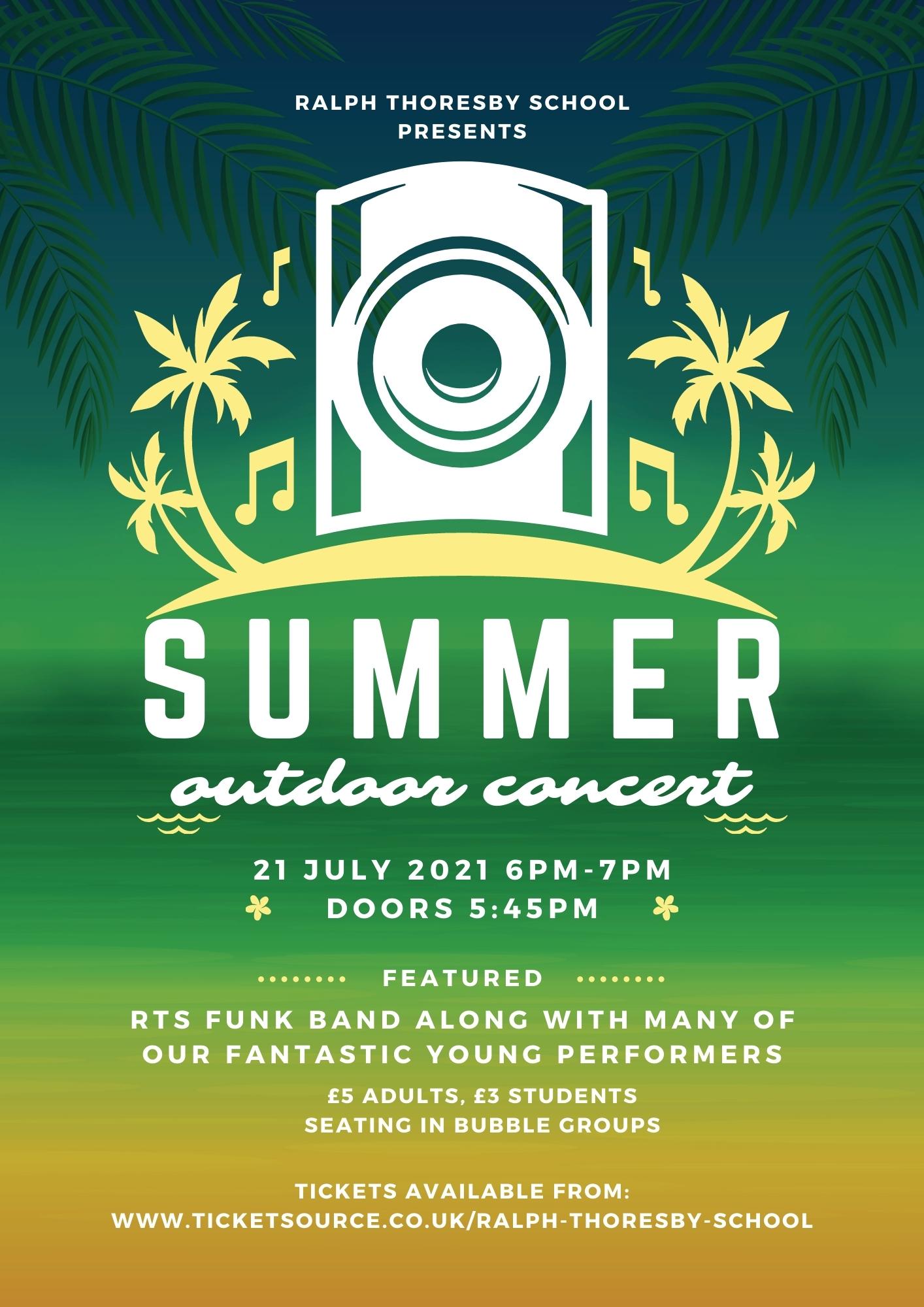 RTS Summer Concert!